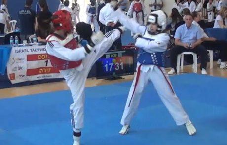 6 מדליות למועדון דרקון הזהב אשדוד באליפות ישראל לקדטים ונוער בטאקוונדו
