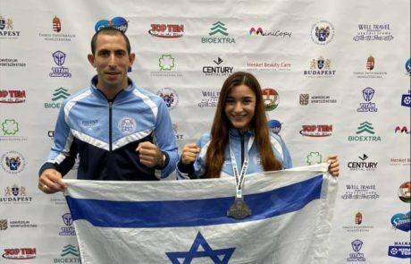 מדליית כסף לשיר כהן ממועדון עצמה מעלות תרשיחא בתחרות גביע העולם