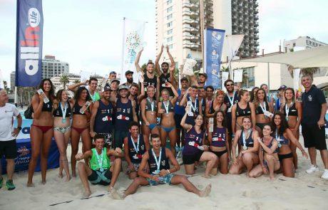 מפגן עוצמה של ענף שלם: אליפות ישראל בכדורעף חופים