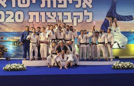 """כותרת: 3 מדליות לעצמה סמוראי דו ראשל""""צ באליפות ישראל בג'ודו לקבוצות"""