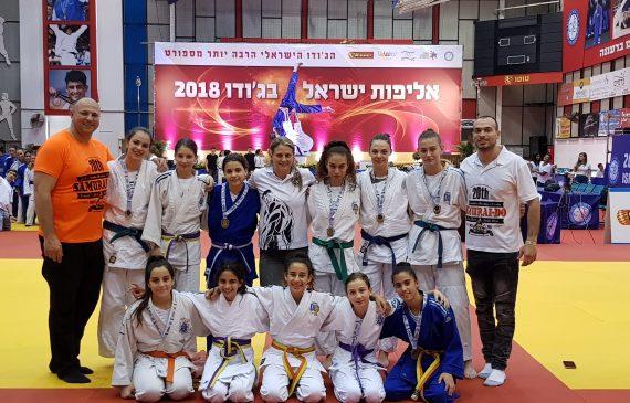 """שיא זכיות למועדון האתלט ראשל""""צ באליפויות ישראל"""