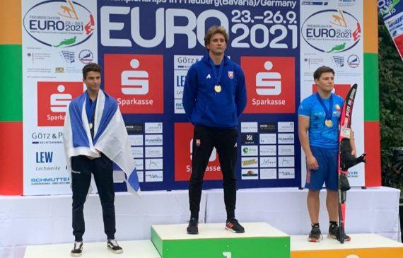 """כובשים את היבשת: ים לב ממועדון עצמה סקי מים ת""""א זכה במדליית כסף באליפות אירופה"""