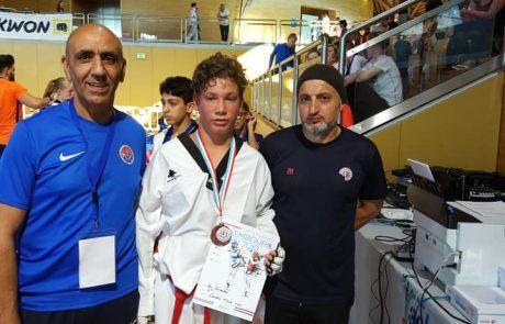 טקוואנדו: 3 מדליות לספורטאי עצמה באליפות הפתוחה בלוקסמבורג