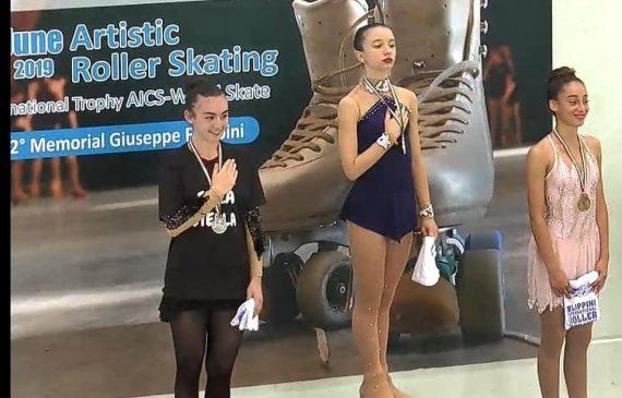 """ליהי אשכנזי מעצמה """"חולון"""" זכתה במדליית ארד באל' איטליה הפתוחה"""
