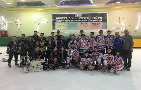 """סיפור הצלחה: מועדון הוקי גלגליות """"נצים"""" חיפה סיים שנה"""