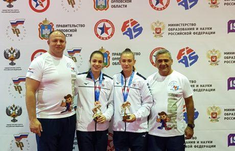 """2 מדליות ארד לנציגות עצמה """"סמוראי דו"""" ראשל""""צ באל' העולם לבתי ספר בסמבו"""