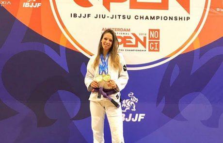 עיניים על המטרה: משי רוזנפלד ממועדון עצמה MMA ISRAEL חולמת בגדול