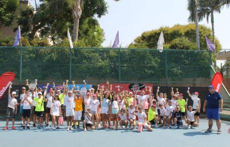 חגיגה לטניס הישראלי: סבב וילסון בשיתוף עצמה