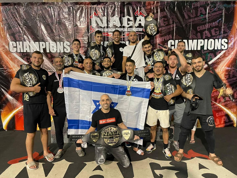 לוחמי עצמה MMA ישראל ממשיכים לייצג את ישראל בכבוד ענק