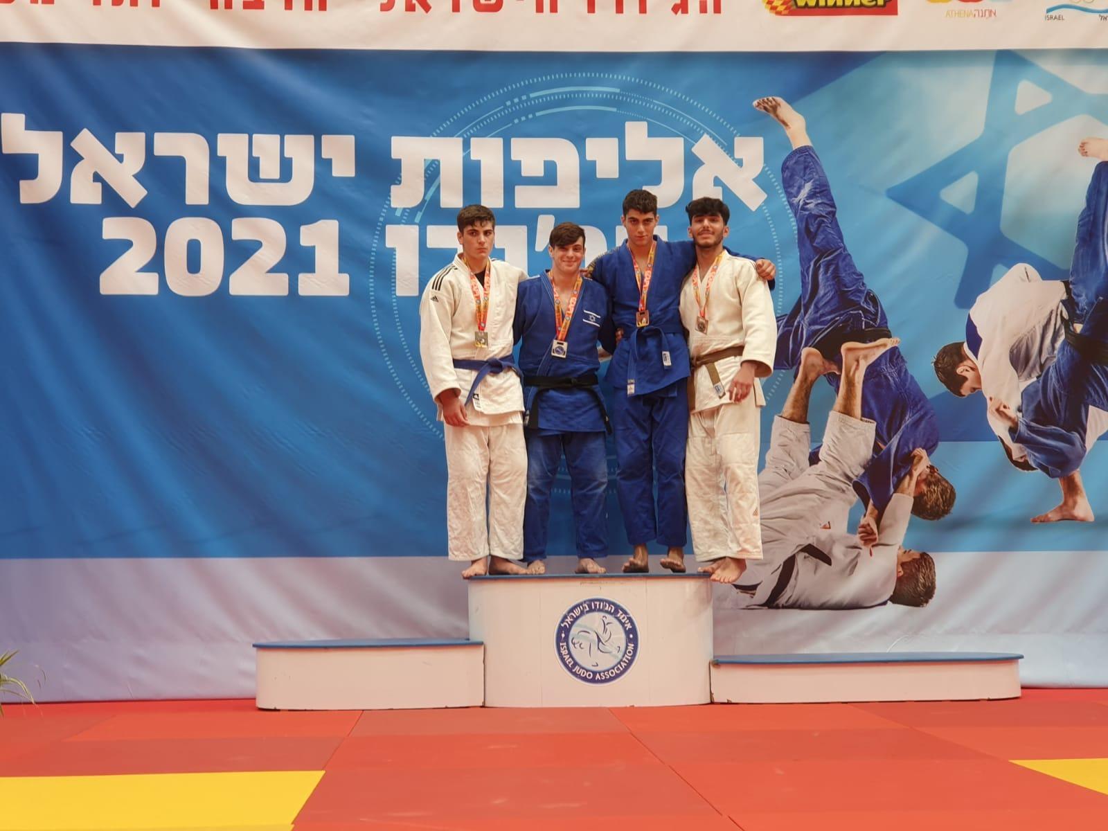 """במקום הראשון בארץ: ההישגים של ג'ודאי מועדון עצמה סמוראי דו ראשל""""צ באליפות ישראל בקדטים"""